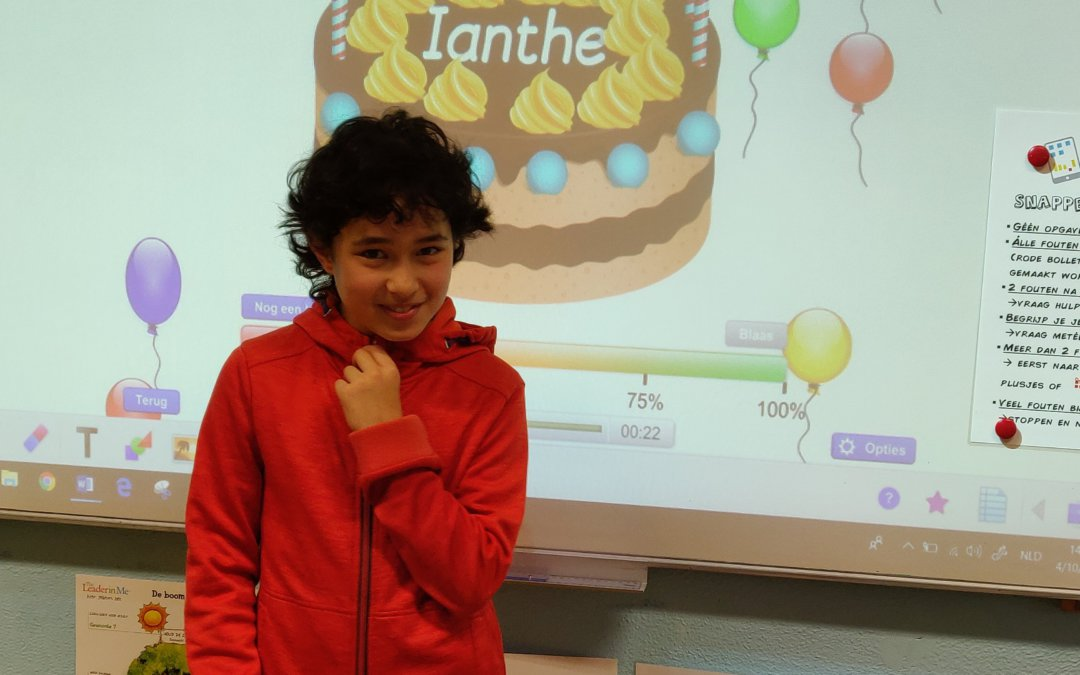 Ianthe is jarig! Gelukkige 11de verjaardag, meid! 🎉
